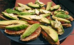 crostini di avocado